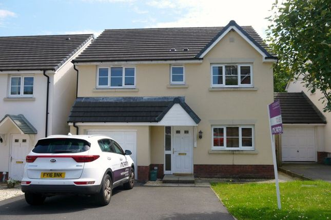 Thumbnail Detached house to rent in Clos Y Wern, Hendy, Pontarddulais, Swansea