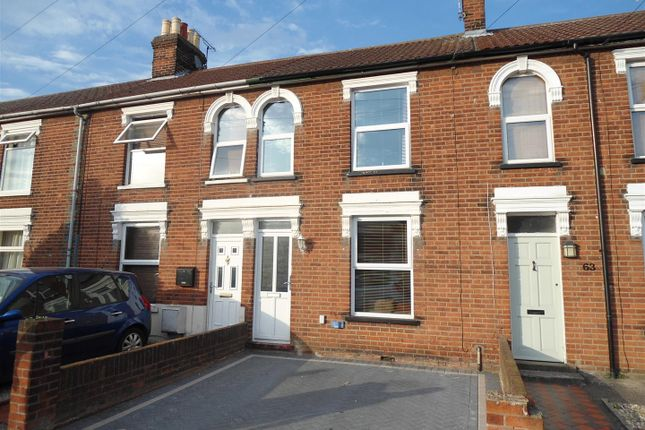 Thumbnail Terraced house to rent in Tomline Road, Ipswich