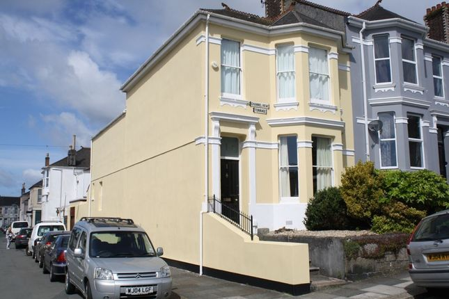 Thumbnail Terraced house to rent in Channel View Terrace, Plymouth