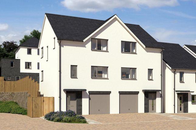 Thumbnail Semi-detached house for sale in Gwallon Keas, St Austell, Cornwall