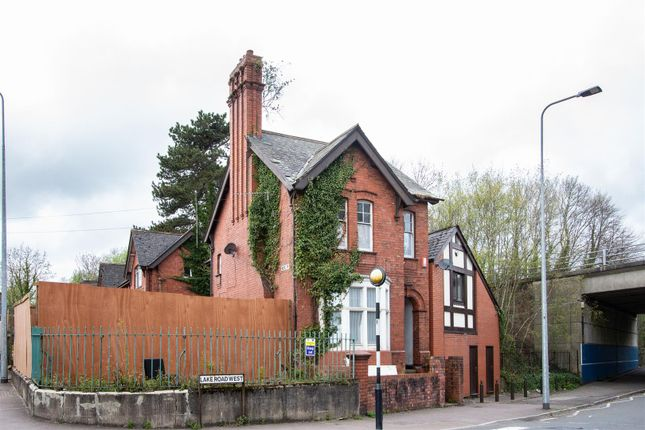 Thumbnail Detached house for sale in Lake Road West, Roath, Cardiff