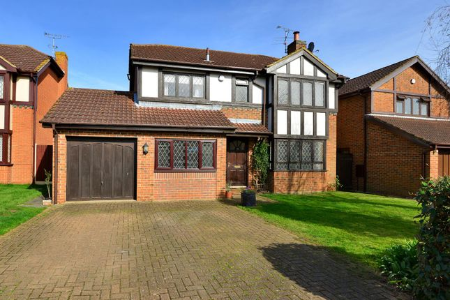 Thumbnail Detached house for sale in Monks Close, Canterbury