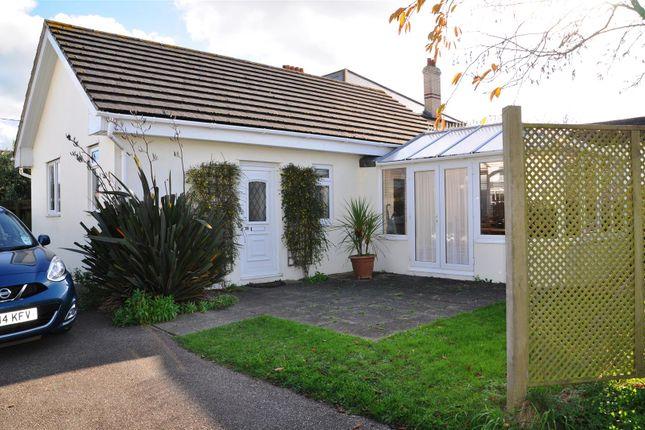 Thumbnail Detached bungalow for sale in Saunton Road, Braunton