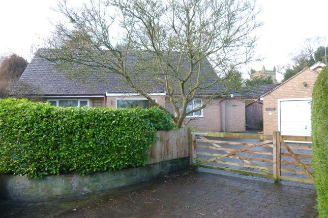 Thumbnail Detached bungalow for sale in Gun Street, Rossett, Wrexham