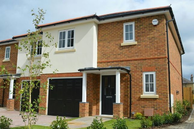 Thumbnail Semi-detached house for sale in Bakersfield Close, Chessington Road, West Ewell