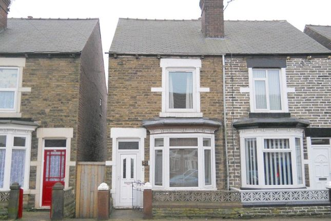 Thumbnail End terrace house to rent in Doncaster Road, Goldthorpe, Rotherham