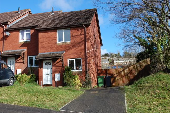 Thumbnail End terrace house to rent in Cornflower Hill, Exwick, Exeter, Devon