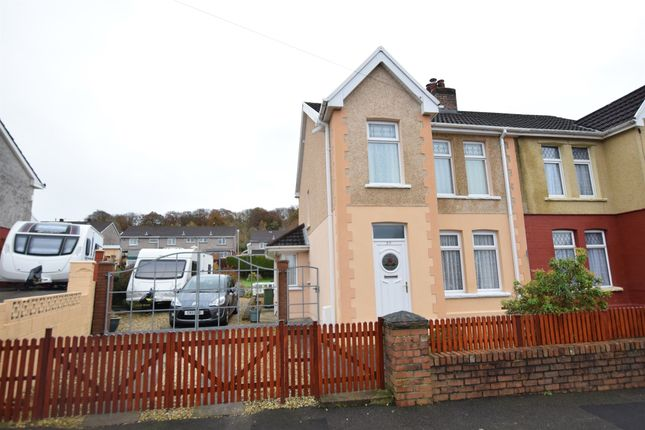 Thumbnail Semi-detached house for sale in Mill Road, Pontllanfraith, Blackwood