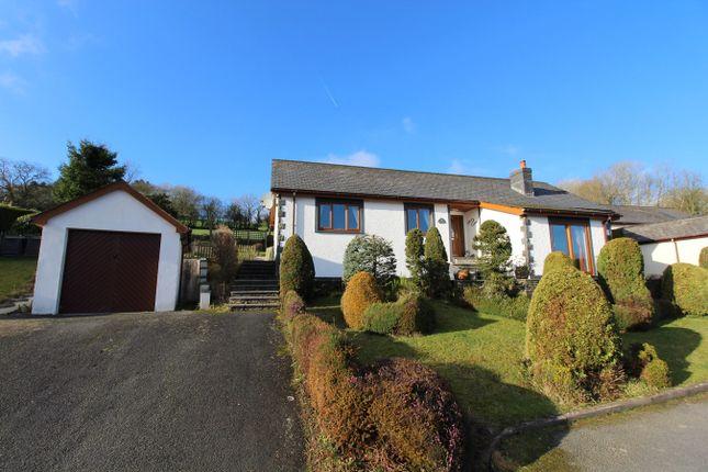 Thumbnail Detached bungalow for sale in Brynawelon, Llanwenog, Llanybydder
