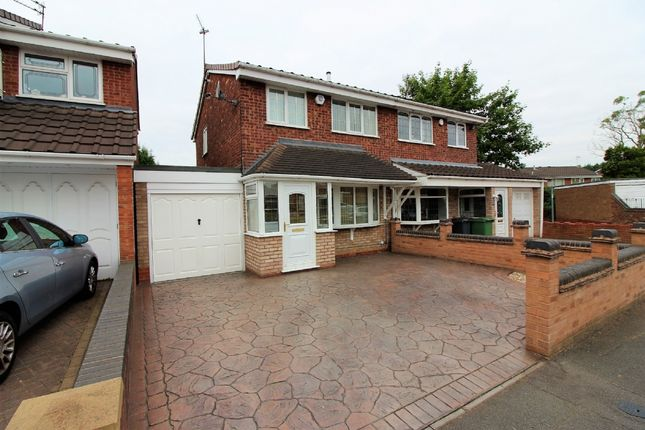 Thumbnail Semi-detached house for sale in Langmead Close, Walsall