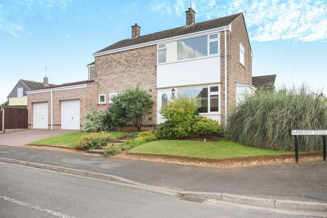 Thumbnail Detached house for sale in Harrison Close, Hillmorton, Rugby