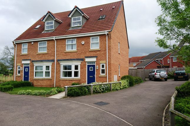 Thumbnail Semi-detached house to rent in Picton Close, Hamilton Leicester