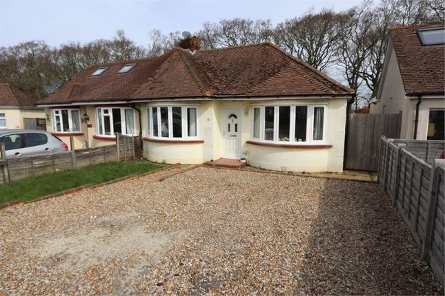 Thumbnail Semi-detached bungalow for sale in 18 Northern Avenue, Polegate, East Sussex