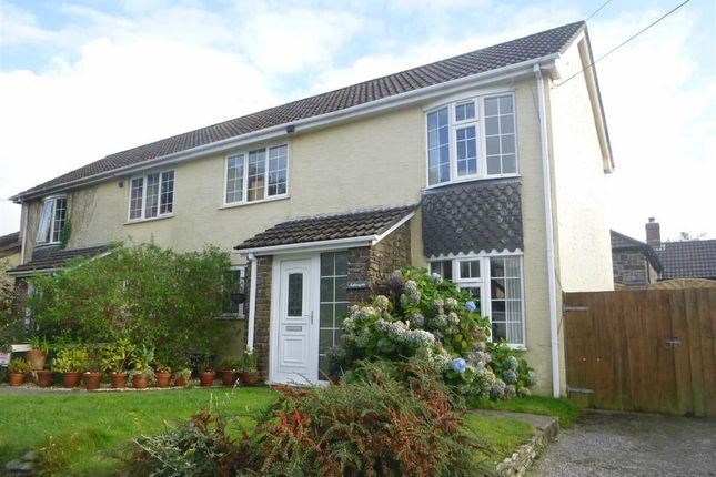 Thumbnail Semi-detached house to rent in Penstowe Road, Kilkhampton, Cornwall
