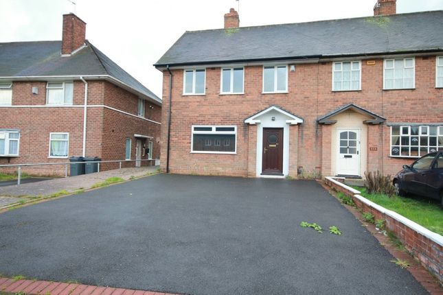 Thumbnail End terrace house to rent in Quinton Road West, Quinton