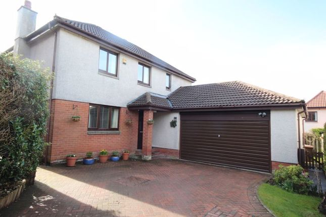 Thumbnail Detached house for sale in Murieston Park, Murieston, Livingston
