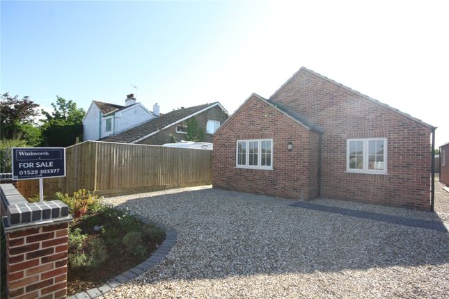 Thumbnail Detached bungalow for sale in Roxholme Road, Leasingham, Sleaford, Lincolnshire