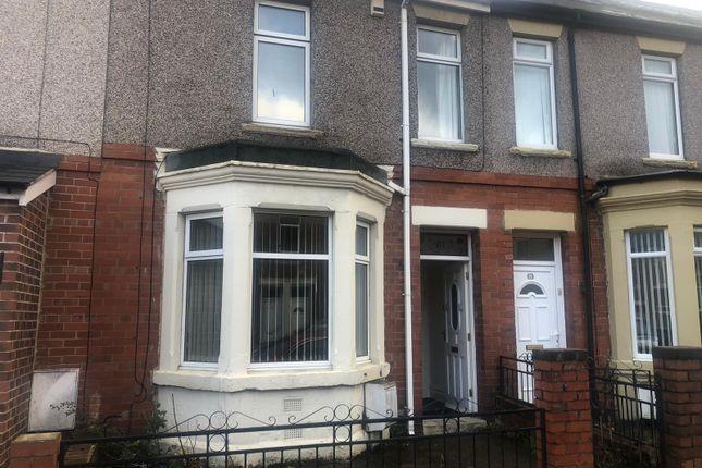 Thumbnail Terraced house to rent in Dunston Road, Dunston, Gateshead