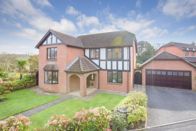 Thumbnail Detached house for sale in Coach Place, Newton Abbot