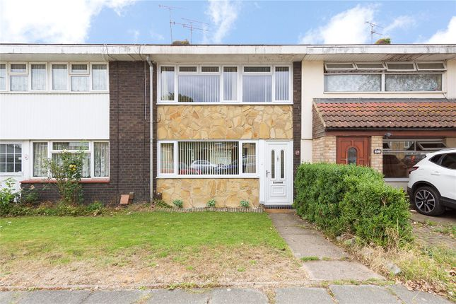 Thumbnail Terraced house for sale in Markhams Chase, Lee Chapel North, Essex