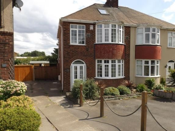 Thumbnail Semi-detached house for sale in Bentley Road North, Walsall, West Midlands