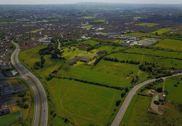 Thumbnail Land for sale in Lands At Glen Road / Monagh Road, Belfast