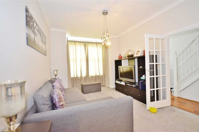 Thumbnail End terrace house to rent in Park View Crescent, London