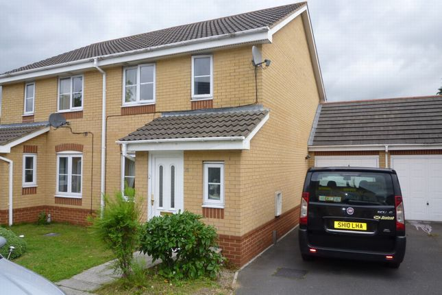 Thumbnail Terraced house to rent in Morgan Close, Leagrave