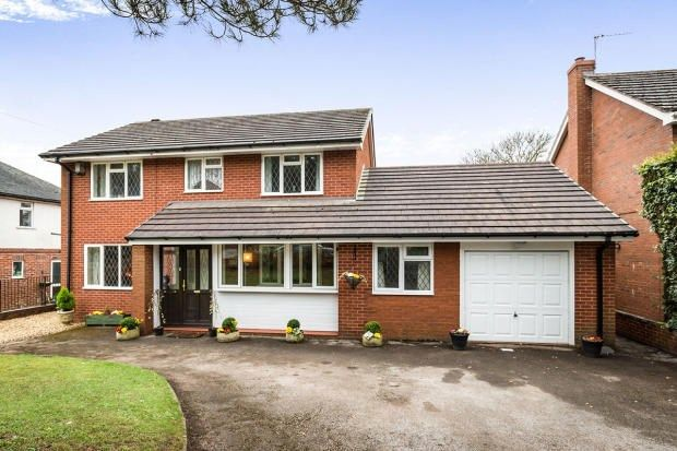 Thumbnail Detached house for sale in Lightwood Road, Stoke-On-Trent