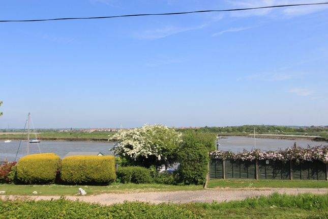 Thumbnail Detached bungalow for sale in The Esplanade, Hullbridge, Hockley