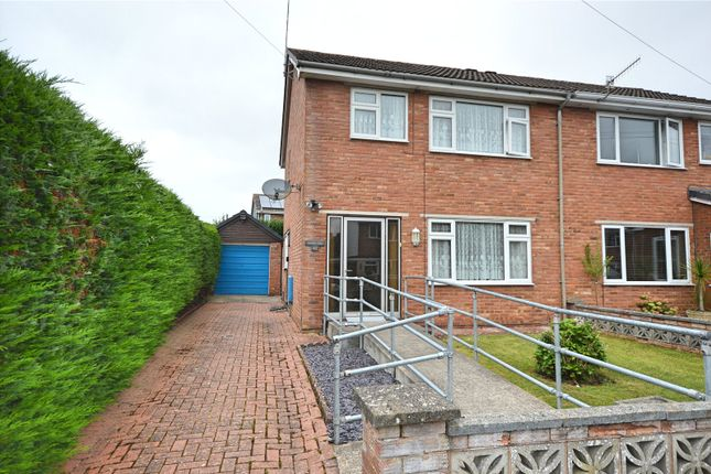Semi-detached house for sale in Llys Rhufain, Caersws, Powys