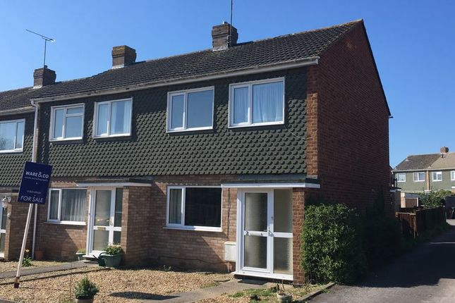 Thumbnail Terraced house for sale in Berwick Close, Taunton, Somerset