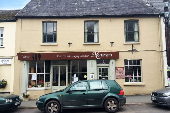 Thumbnail Terraced house for sale in High Street, Dulverton