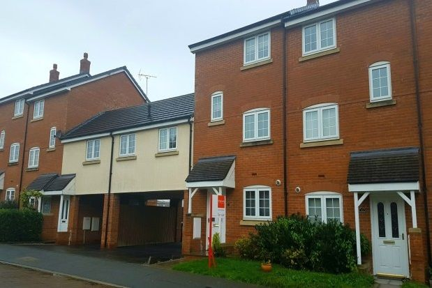Thumbnail Town house to rent in Williamson Drive, Nantwich