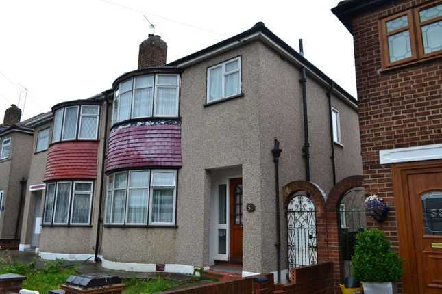 Thumbnail Semi-detached house to rent in Penrith Road, Hainault, Ilford