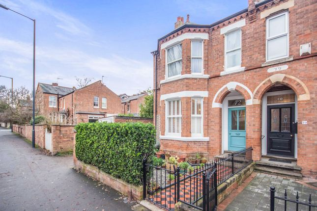 Thumbnail Semi-detached house for sale in Rugby Road, Leamington Spa, Warwickshire