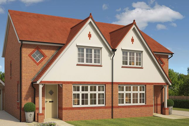 """Thumbnail Semi-detached house for sale in """"Letchworth"""" at Eurolink Way, Sittingbourne"""