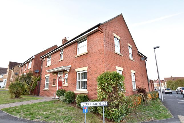 Thumbnail Detached house for sale in Cox Gardens, Gillingham