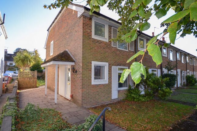 Thumbnail End terrace house to rent in Rectory Cottages, West Street, Storrington