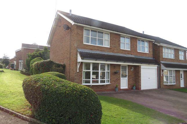 Thumbnail Detached house for sale in Obelisk Rise, Kingsthorpe, Northampton