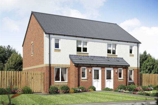 "Thumbnail Semi-detached house for sale in ""The Ardbeg"" at Paddock Street, Coatbridge"