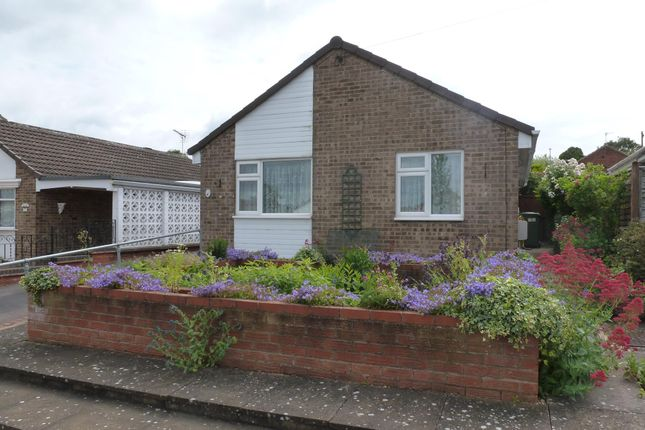 Thumbnail Detached bungalow to rent in Stackley Road, Great Glen, Leicester