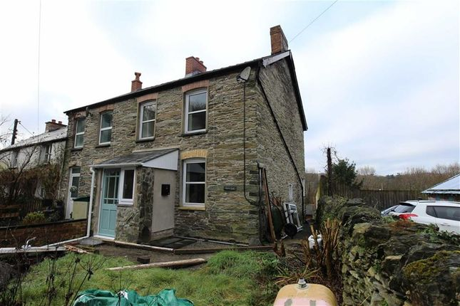 Thumbnail End terrace house for sale in Eglwys Fach, Machynlleth