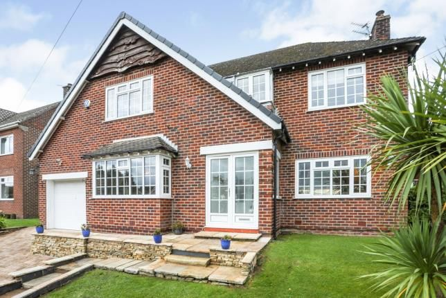 3 bed detached house for sale in Fletcher Drive, Disley, Stockport, Cheshire SK12