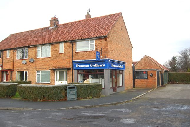 Thumbnail Retail premises for sale in The Crescent, Northallerton