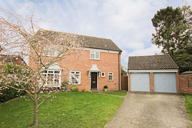 Thumbnail Detached house for sale in Isinglass Close, Newmarket