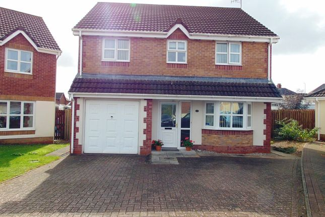 Thumbnail Detached house for sale in Maes Yr Efail, Llangennech, Llanelli