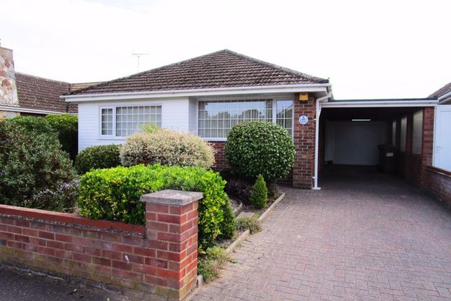 Thumbnail Detached bungalow to rent in Marine Close, Gorleston, Great Yarmouth