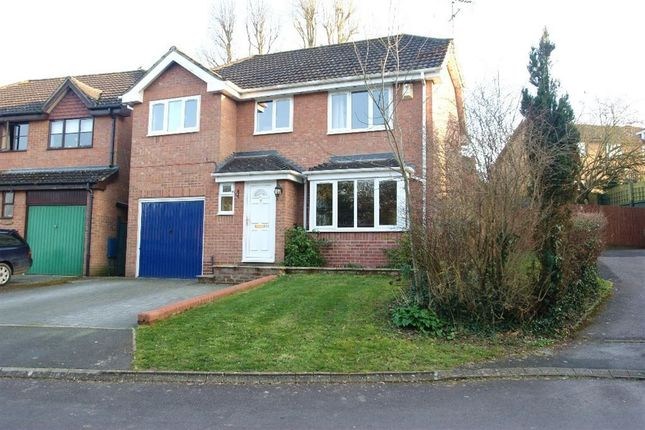 Thumbnail Detached house to rent in Brook Way, Anna Valley, Andover
