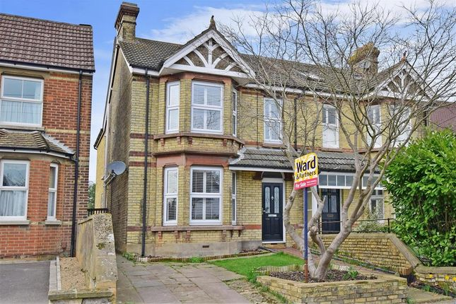 Thumbnail Semi-detached house for sale in Birling Road, Snodland, Kent